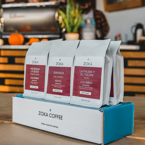 Single Origin Six Pack, Featuring 6 - 4 oz Bags