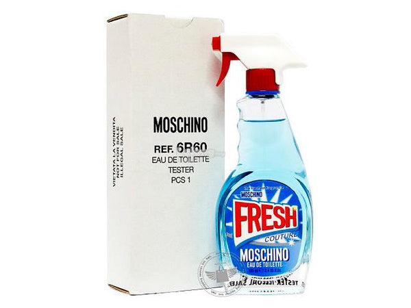 TESTER W MOSCHINO FRESH 3.4 FL. OZ (100 ML) EDT SPY