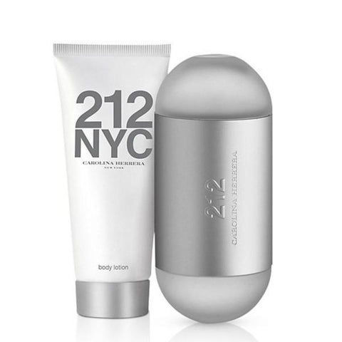 SET W CAROLINA HERRERA 212 NYC 2 PC