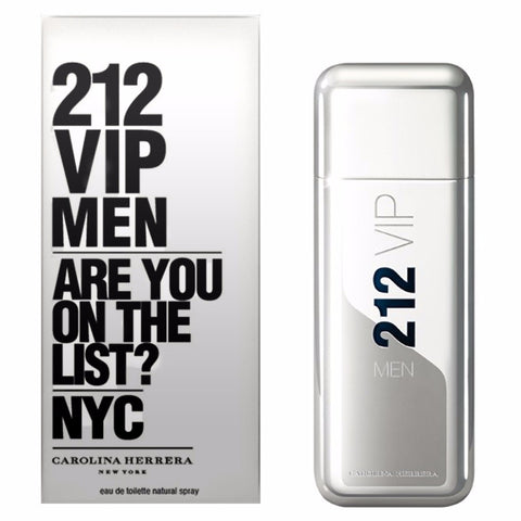 M CAROLINA HERRERA 212 VIP MEN 3.4 OZ (100 ML) EDT SP