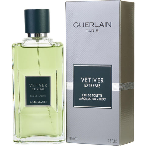 M GUERLAIN VETIVER EXTREME 3.3 FL. OZ 100 ML EDT SPY
