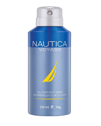 NAUTICA VOYAGE 150 ML 96 G DEODORANT BODY SPRAY(Free Shipping)
