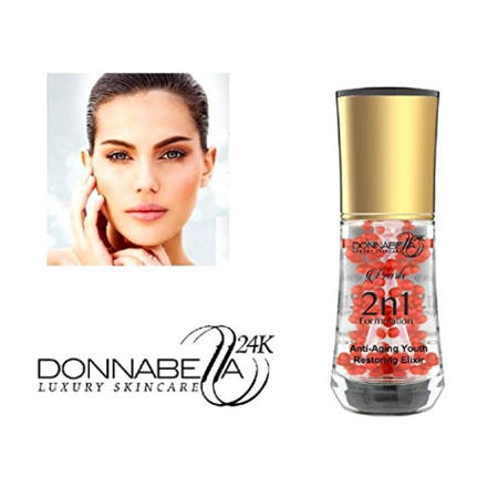 S ANTI-AGING YOUTH RESTORING ELIXIR BY DONNA BELLA 1.35 OZ(40 ML)