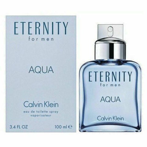 M ETERNITY AQUA 3.3 FL.OZ (100 ML) EDT SPRY