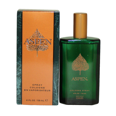 M ASPEN 4 FL.OZ (118 ML) COLOGNE SPRY