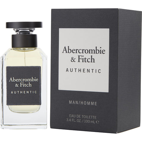 M ABERCROMBIE & FITCH AUTHENTIC 3.4 FL.OZ (100 ML) EDT SPRY