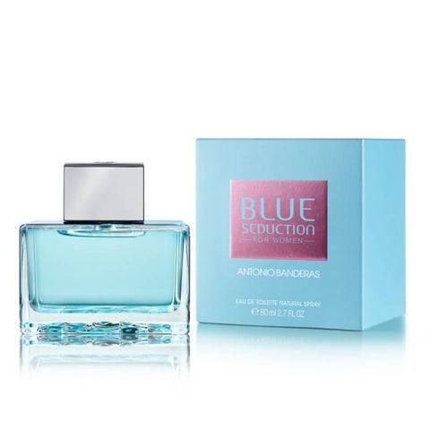 W BLUE SEDUCTION FOR WOMEN 2.7 OZ EDT SPRY