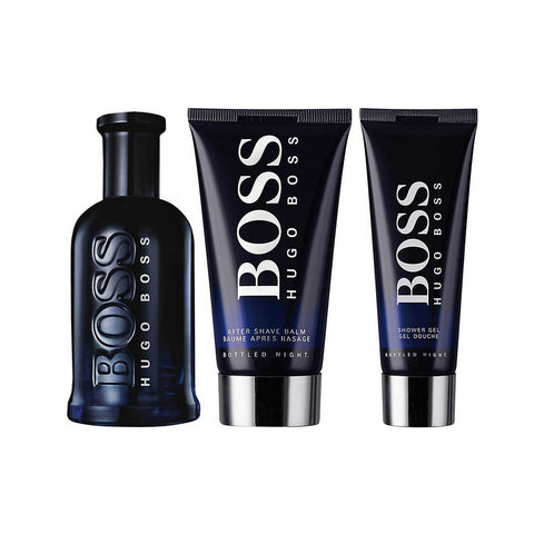 SET M HUGO BOSS BOTTLED NIGHT 3 PC