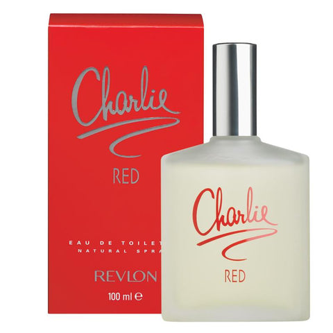 W REVLON CHARLIE RED 3.4oz EDT SPY