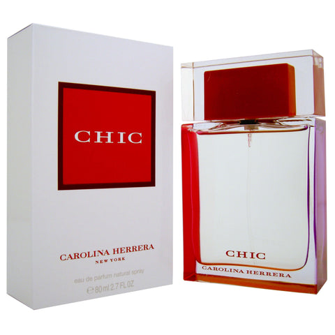W CAROLINA HERRERA CHIC 2.7 OZ (80 ML)
