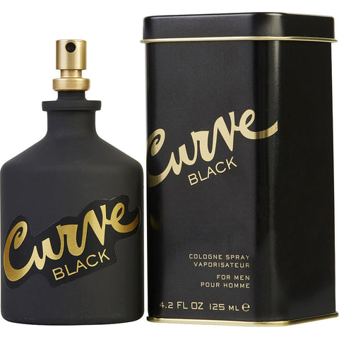 CURVE BLACK 4.2 FL.OZ EDC SPRY (Free Shipping)
