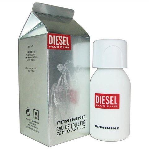 W DIESEL PLUS PLUS 2.5 FL.OZ (75 ML) EDT SPRY (Free Shipping)