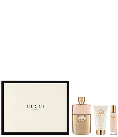 SET W GUCCI GUILTY BEAUTY 3 PC