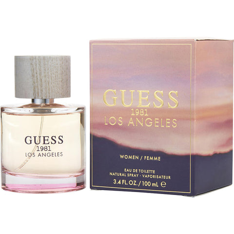 W GUESS 1981 LOS ANGELES 3.4 OZ EDT SPRY