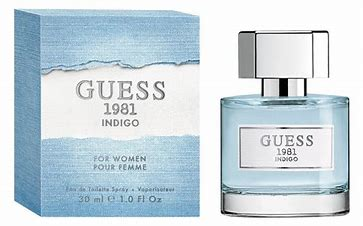 W GUESS 1981 INDIGO BY GUESS 3.4 OZ (100 ML)