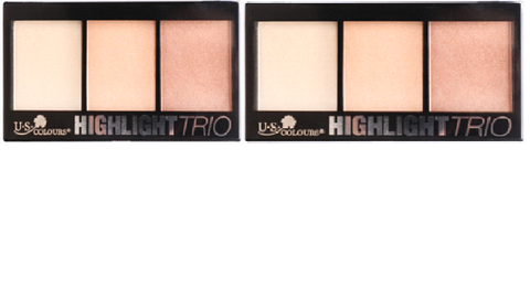 U.S. COLOURS COSMETIC HGHTLIGHT TRIO
