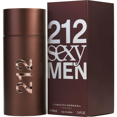 CAROLINA HERRERA 212 MEN SEXY 3.4 FL.OZ EDT SPRY(Free Shipping)