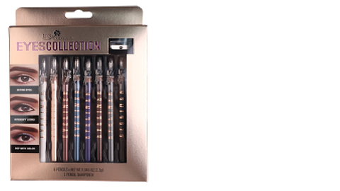 U.S. COLOURS COSMETIC EYELINER PENCILS KIT