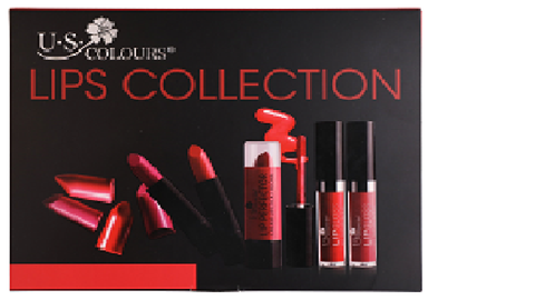 U.S. COLOURS COSMETIC LIPS COLLECTION