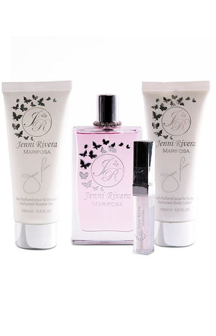 SET W JENNI RIVERA MARIPOSA 4 PC