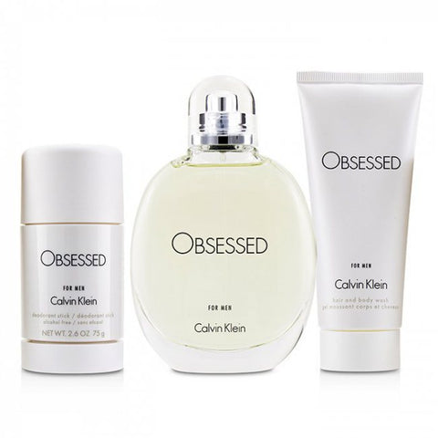 SET M CALVIN KLEIN OBSESSION 3 PC