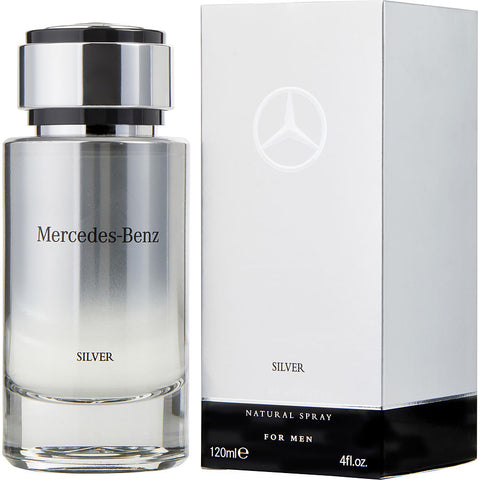 M MERCEDES BENZ SILVER 4 FL.OZ(120 ML) EDT SPRY
