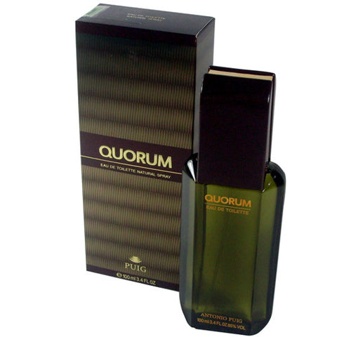 M ANTONIO PUIG QUORUM 3.4oz EDT SPY