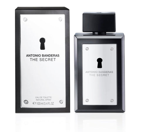 M ANTONIO BANDERAS THE SECRET 3.4oz EDT SPY