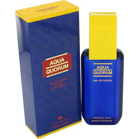 ANTONIO PUIG QUORUM AQUA 3.4OZ EDT SPY MEN (Free Shipping)