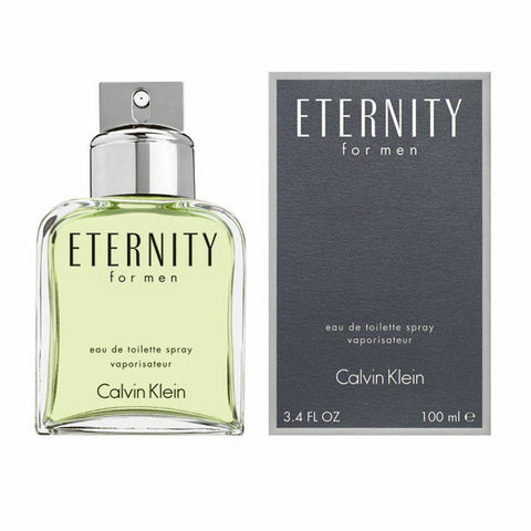 M CALVIN KLEIN ETERNITY 3.4oz EDT SPY