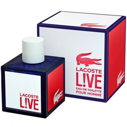 M LACOSTE LIVE MALE 3.4oz EDT SPY