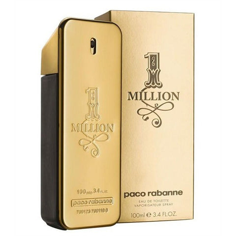 PACO RABANNE 1 MILLION 3.4 FL.OZ ) EDT SPY(Free Shipping)