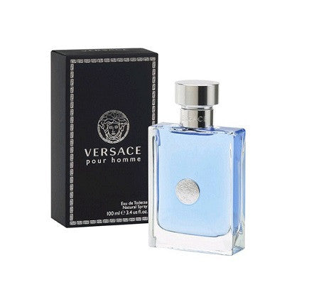 VERSACE POUR HOMME 3.4OZ EDT SPRY (Free Shipping)