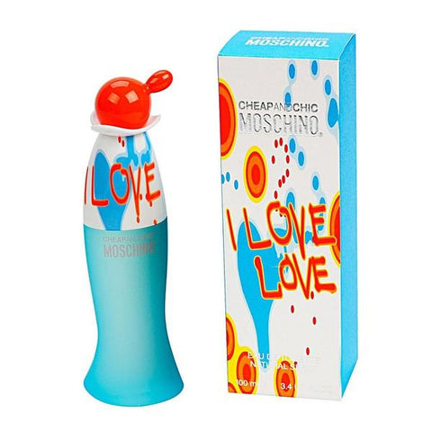 W MOSCHINO I LOVE LOVE 3.4 OZ EDT SPRY
