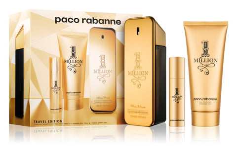 SET M PACO RABANNE ONE MILLION 3 PC