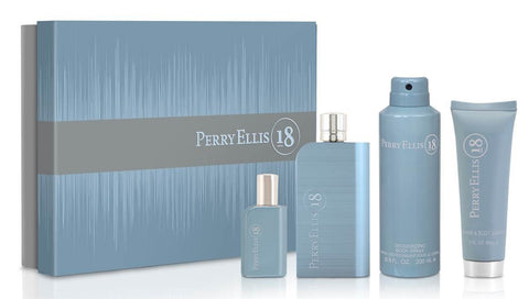 SET M PERRY ELLIS 18 4 PC