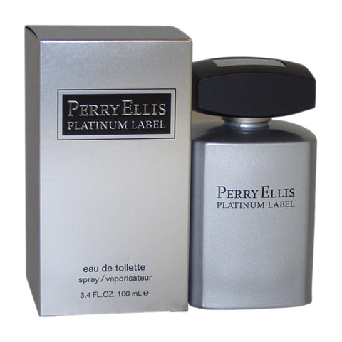 PERRY ELLIS PLATINUM LABEL 3.4 FL.OZ  EDT SPRY (Free Shipping)