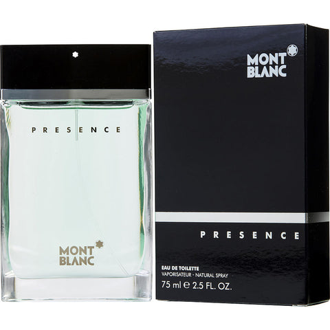 MONT BLANC PRESENCE 2.5 FL.OZ  EDT SPRY(Free Shipping)