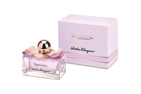 W SALVATORE FERRAGAMO SIGNORINA 3.4 FL.OZ (100 ML) EDT SPRY