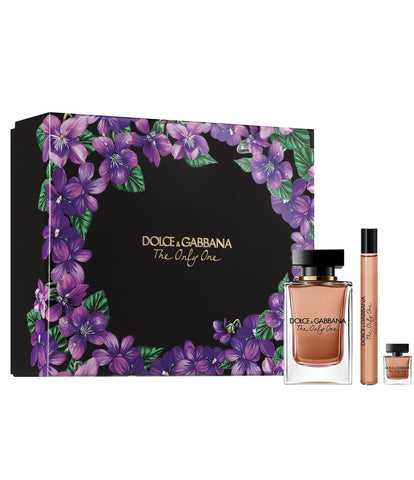 SET W DOLCE & GABBANA THE ONLY ONE 3 PC