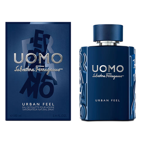 SALVATORE FERRAGAMO UOMO URBAN FEEL 3.4 OZ(Free Shipping)