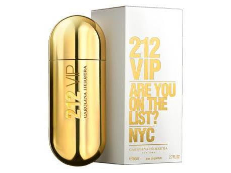 W CAROLINA HERRERA 212 VIP 2.7 OZ (100 ML) EDP SPRY