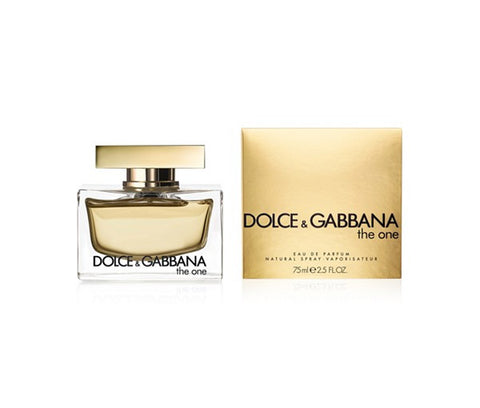 W DOLCE & GABBANA THE ONE 2.5 OZ EDP SPY
