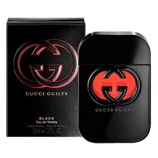 W GUCCI GUILTY BLACK 2.5 OZ (75 ML)