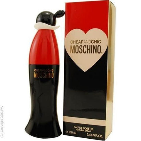 W MOSCHINO CHEAP & CHIC 3.4OZ (100 ML) EDT SPY