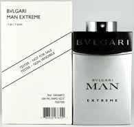 TESTER M BVLGARI MAN EXTREME 3.4 FL. OZ 100 ML EDT SPY