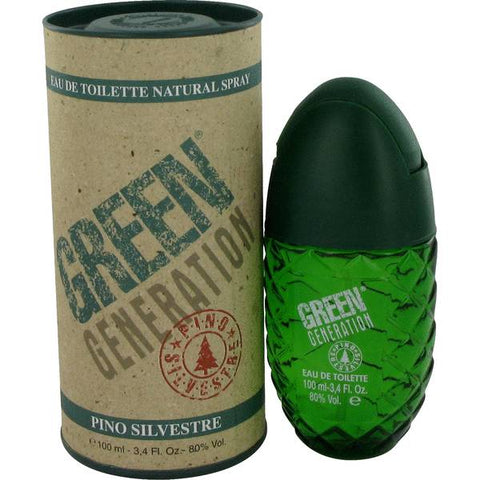 PINO SILVESTRE GREEN GENERATION EDT 3.4 FL. OZ SPY (Free Shipping)