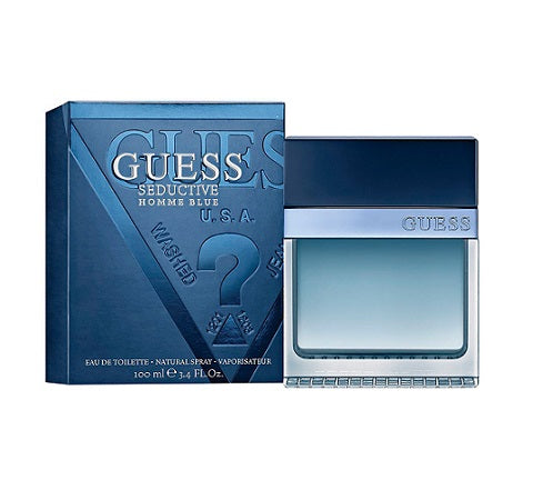 M GUESS SEDUCTIVE BLUE 3.4 OZ (100 ML)