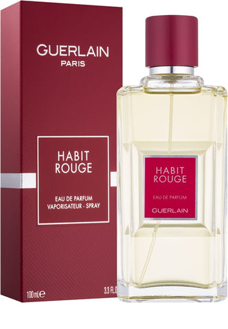 Guerlain Habit Rouge Edt 3 4 Fl Oz Spy Free Shipping Fine Fragrances