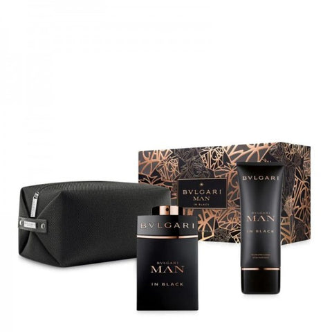 SET M BVLGARI MAN IN BLACK 3 PC